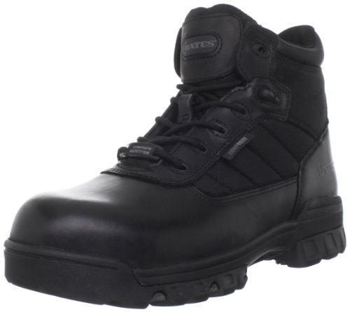Bates Men's Enforcer 5 Inch SZ Leather Nylon SEMC Uniform Work Boot, Black, 10 M US