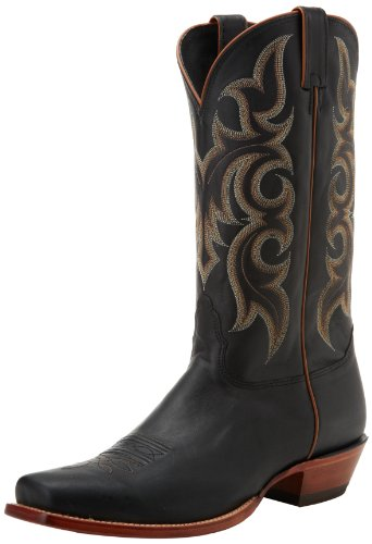 Nocona Boots Men's Legacy L Toe Boot,Black Calf,10 D US
