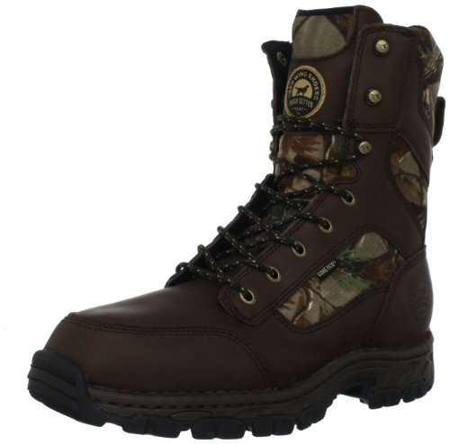 Irish Setter Men's 848 Havoc WP 1200 Gram 10″ Big Game Boot,Realtree All Purpose/Brown,8.5 2E US