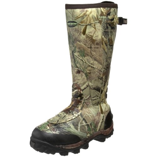 Irish Setter Men's RutMaster WP 1200 Gram 17″ Rubber Boot,Realtree AP Camouflage,13 E US
