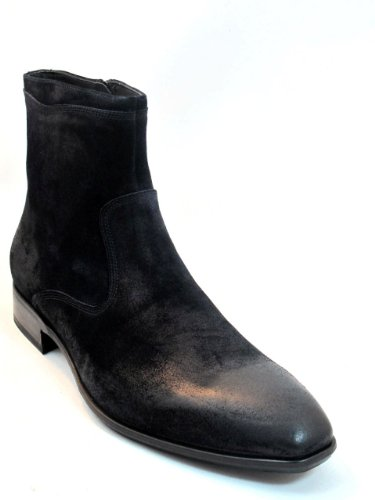 Men's Dressy Doucals Ankle boot 1110 Black brushed SuedeDoucals, Size 40
