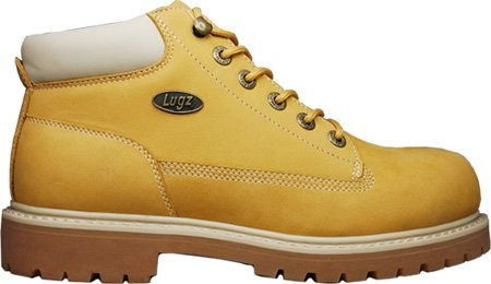 Lugz Men's Drifter Steel Toe Boot,Wheat/Cream,9.5 D