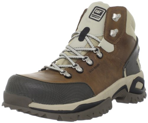 Caterpillar Men's Antidote Hi ST Work Boot,Dark Beige,10.5 M US