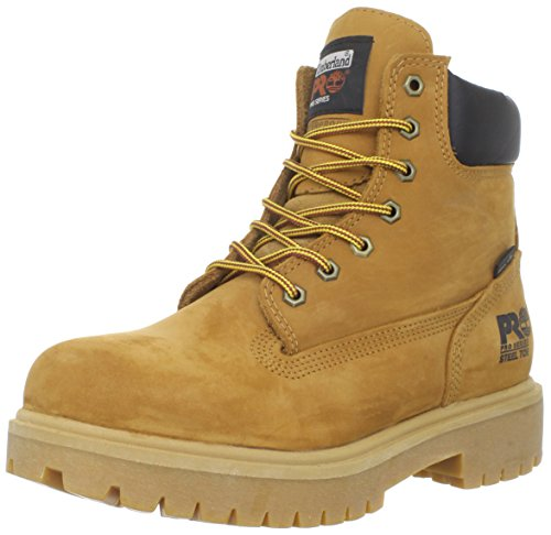 Timberland PRO Men's 65016 Direct Attach 6″ Steel Toe Boot,Yellow,8.5 M