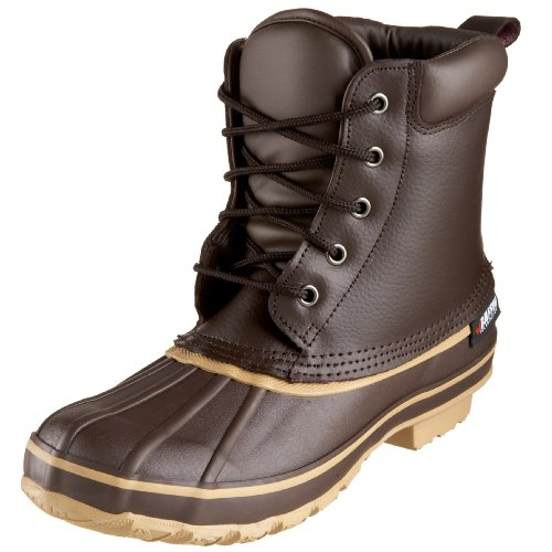 Baffin Men's Moose Rain Boot,Brown,10 M US