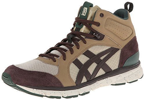 Onitsuka Tiger Harandia MT Fashion Sneaker,Sand/Dark Brown,10 M US/11.5 Women's M US