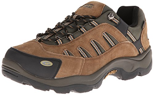 Hi-Tec Men's Bandera Low WP Hiking Boot,Bone/Brown/Mustard,10.5 M US