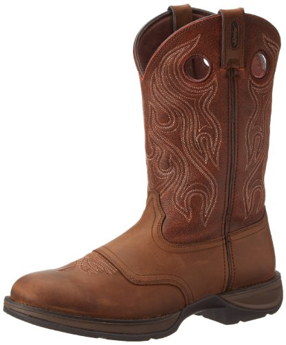 Durango Men's 11 Inch Men's Pull-on DB5474 Western Boot,Dusk Velocity/Dark Brown,14 W US