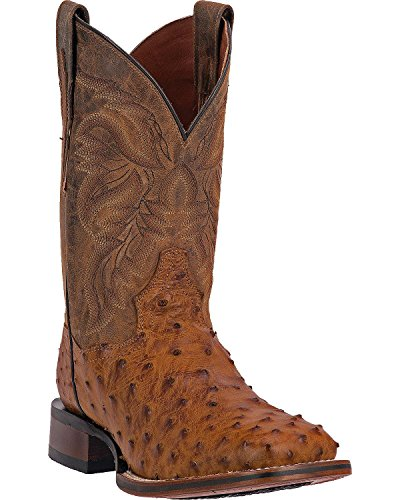 Dan Post Boots Men's Saddle Tan Alamosa 8 D(M) US