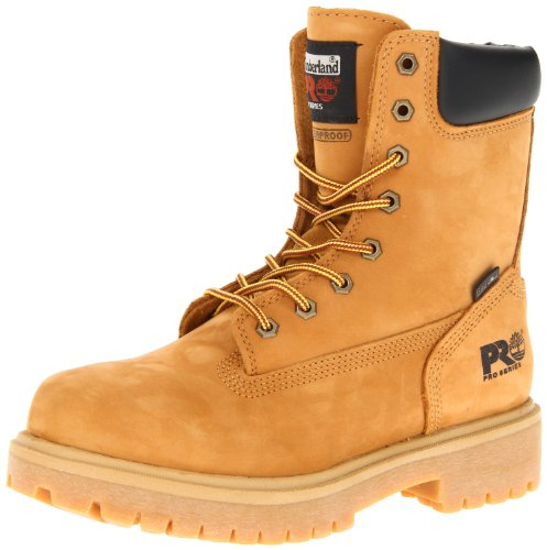 Timberland PRO Men's Wheat 26011 Direct Attach 8″ Soft-Toe Boot,Yellow,15 W