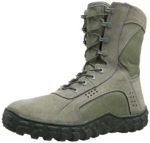Rocky Men's S2V Work Boot,Sage,9.5 W US