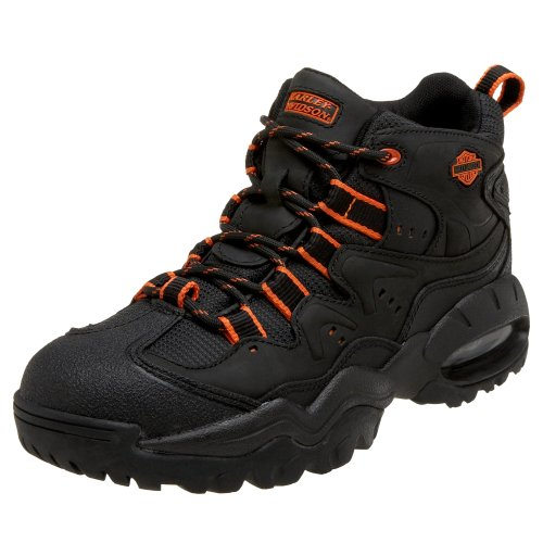 Harley-Davidson Men's Crossroad II Athletic Motorcycle Hiker, Black, 7 M US
