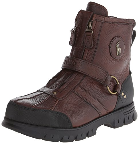 Polo Ralph Lauren Men's Conquest Hi III Boot,Briarwood,10.5 D US
