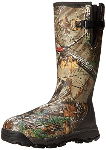 LaCrosse Men's Alphaburly PRO SZ 18 RTXT 1000 Hunting Boot,Brown/Green,10 M US