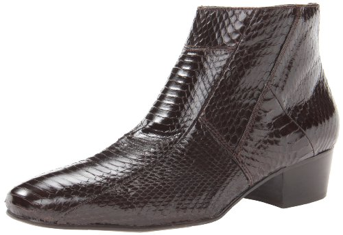 Giorgio Brutini Men's Genuine Snake Skin Look 15549 Boots,Brown,9 M US