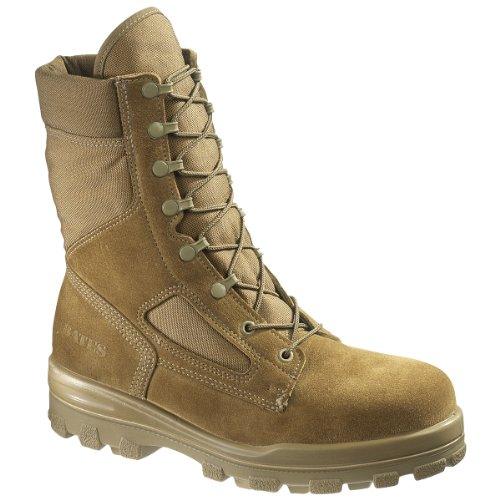 70701 Bates Men's JDB Warrior Safety Boots – Olive Mojave – 12.0EW