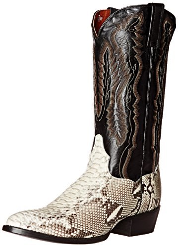 Dan Post Men's Omaha Western Boot, Natural, 9 XW US