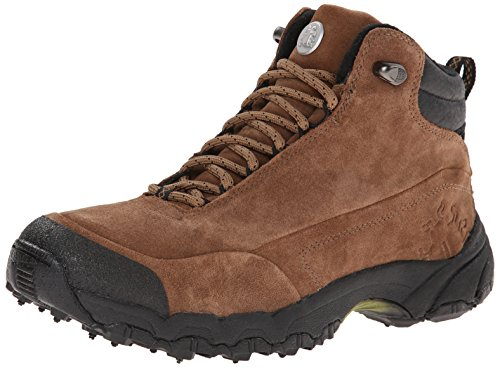Icebug Men's Helsinki BUGrip Studded Traction All-Season Boot,Coffee,8.5 M US
