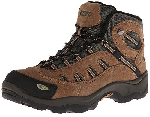 Hi-Tec Men's Bandera Mid WP Hiking Boot,Bone/Brown/Mustard,11 M US