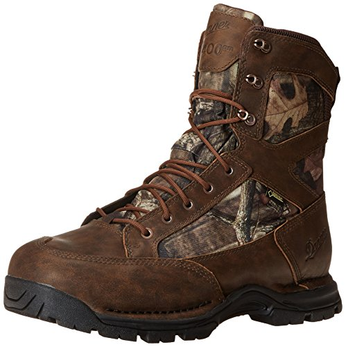 Danner Men's Pronghorn 8 Inch GTX 400G Hunting Boot,Mossy Oak Break Up Infinity/Brown,9.5 D US