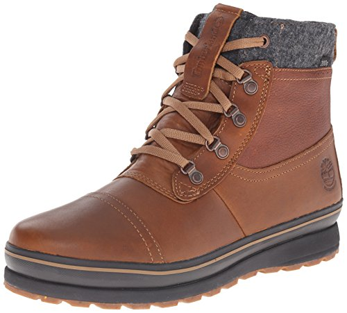 Timberland Men's Schazzberg Mid WP Insulated Winter Boot, Brown, 11 M US