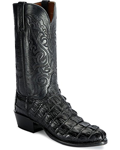 Lucchese Men's Handcrafted 2000 Caiman Western Boot Medium Toe Cigar 9 1/2 D(M) US