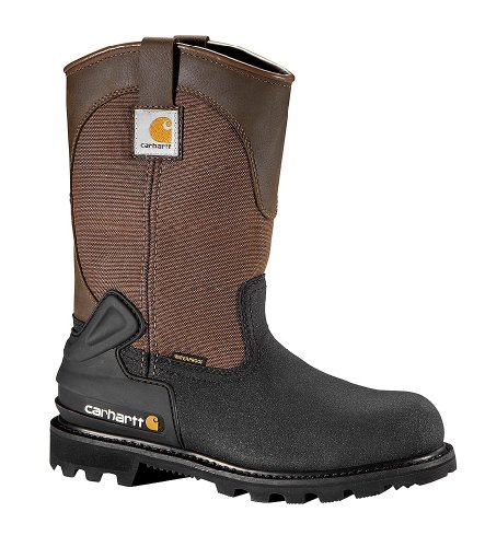 Carhartt Men's 11″ Insulated Csa Certified Work Boot Steel Toe Brown US