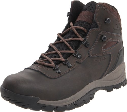 Columbia Men's Newton Ridge Plus Hiking Boot,Cordovan/Treasure,12 W US