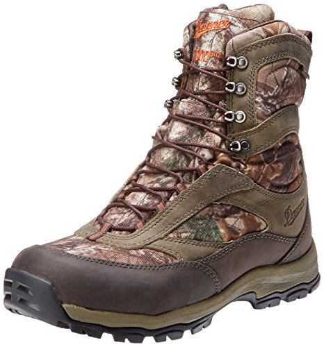 Danner Men's High Ground 8 Realtree X 1000G Hiking Boot,Brown/Green,14 EE US