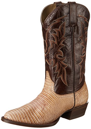 Roper Men's Exotica Western Boot,Tan,10 EE US