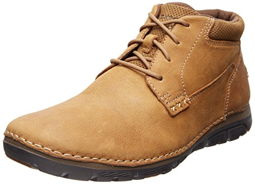 Rockport Men's Zonecush PT Chukka Boot,Tan,10 M US