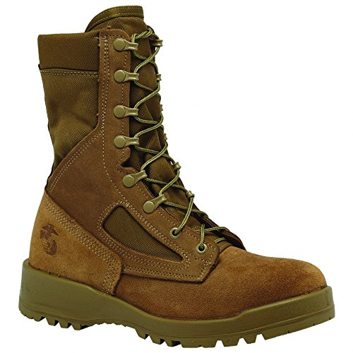 Belleville 500 USMC Waterproof Desert Tan 8″ Combat Boot, Made in USA, Size 10.5