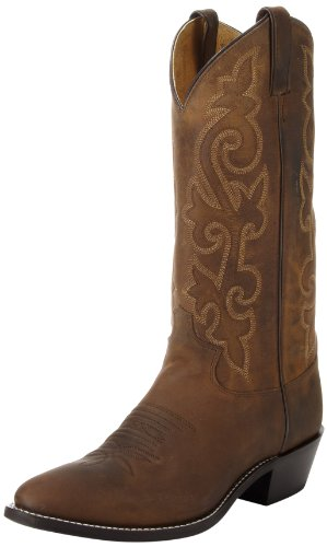 Justin Boots Men's 13″ Western Boot Medium Round Toe,Bay Apache,9.5 D US