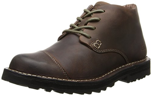 KEEN Men's Tyretread WP Chukka Boot,Peanut,11.5 M US