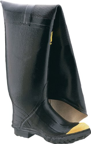 Honeywell Safety 2143-12 Ranger Safety Full Hip Boot for Men's, Size-12, Black
