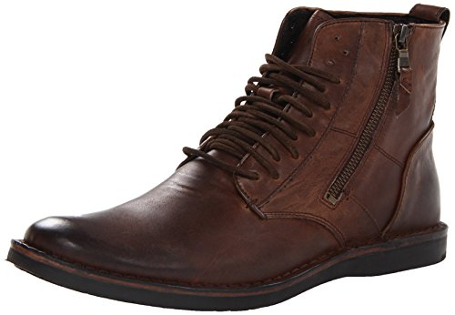 John Varvatos Men's Barrett Side-Zip Boot