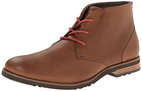 Rockport Men's Ledge Hill Too Chukka Boot, New Caramel, 10 M US