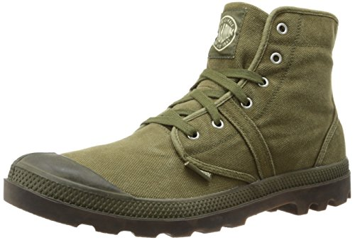 Palladium Men's Pallabrouse Boot,Dark Olive/Dark Gum,12 M US