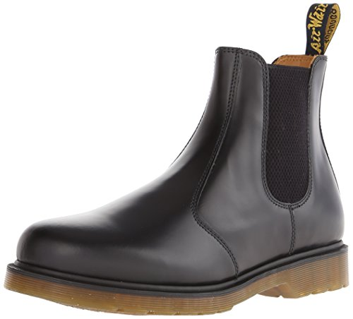 Dr. Martens 2976 Chelsea Boot,Black Smooth,4 UK (Women's 6 M US/Men's 5 M US)