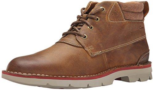 Clarks Men's Varick Hill Chukka Boot, Cognac, 13 M US