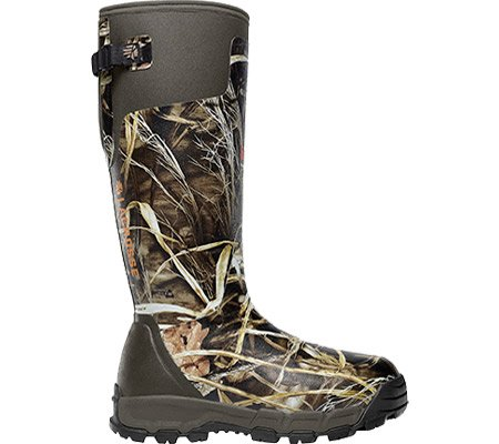 LaCrosse Men's Alphaburly PRO 18 AD Max4 800G Hunting Boot,Brown/Green,9 M US