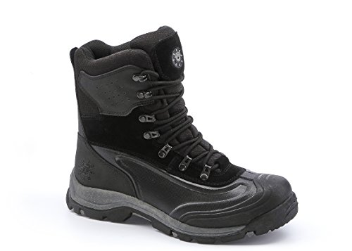 Kingshow Men's 1586 Waterproof Cold Weather Snow Boot