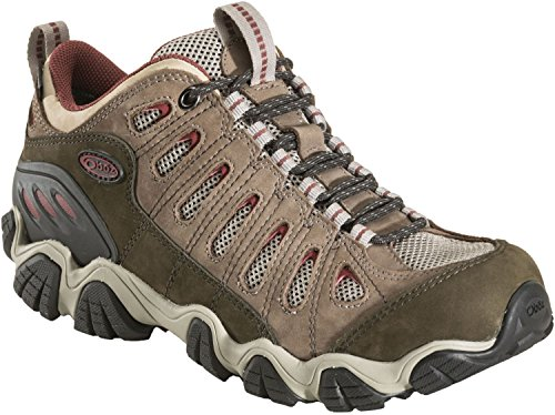 Oboz Sawtooth Low BDry Hiking Shoe – Men's Russet 8.5