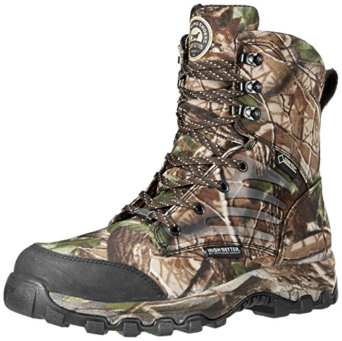 Irish Setter Men's 3858 Shadow Trek WP 8″ Big Game Boot,Real Tree Hardwoods Green HD,5 D US