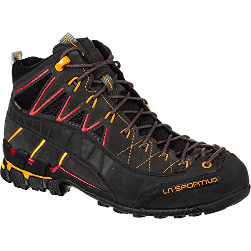 La Sportiva Hyper Mid GTX Boot – Men's Black / Red 46.5
