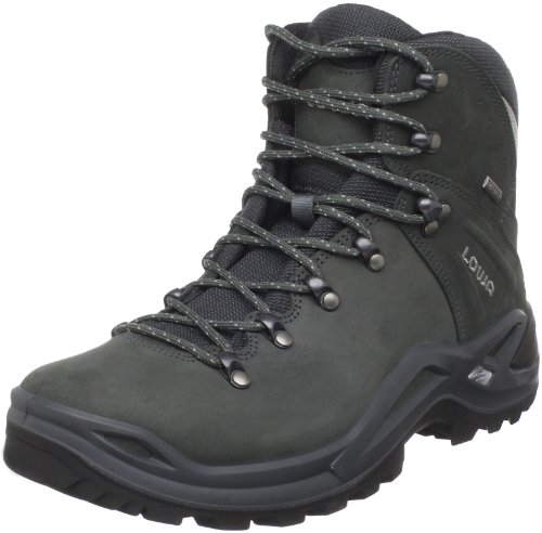 Lowa Men's Ronan GTX Mid Hiking Boot,Dark Grey/Silver,8 M US