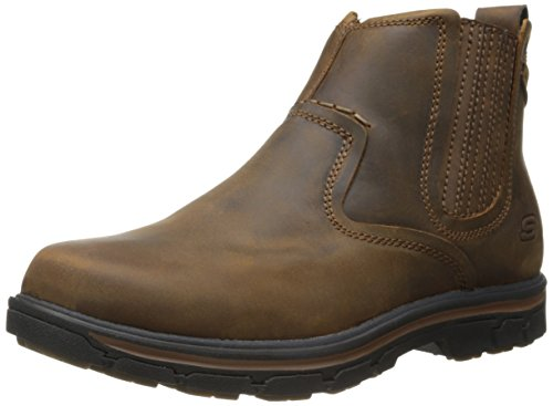 Skechers USA Men's Segment-Dorton Chelsea Boot