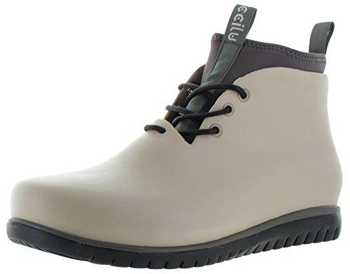 fad042b59b9d72 Ccilu Paolo Men's Waterproof Rubber Chukka Boots Neoprene ...