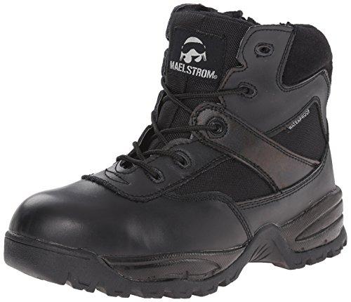 Maelstrom Men's PATROL 6 Inch Waterproof Composite Toe Work Boot with Zipper
