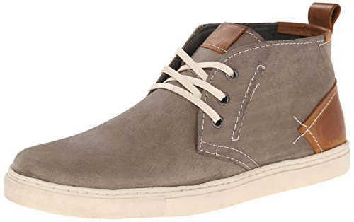 Steve Madden Men's Forse Fashion Sneaker, Grey, 12 M US